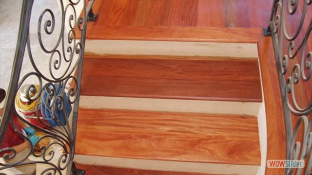 13santos oiled stairs